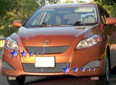 Grilles - Custom Fit Grilles - APS - Toyota Matrix APS Billet Grille - Upper & Bumper - Aluminum - T66603A