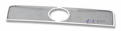 Grilles - Custom Fit Grilles - APS - Scion xB APS Wire Mesh Grille - with Logo Opening - Upper - Stainless Steel - T76549T
