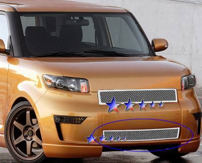 Grilles - Custom Fit Grilles - APS - Scion xB APS Wire Mesh Grille - Bumper - Stainless Steel - T76586T