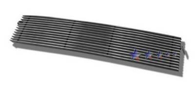 Grilles - Custom Fit Grilles - APS - Toyota Tacoma APS Billet Grille - Bumper - Aluminum - T85121A
