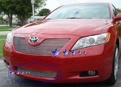 Grilles - Custom Fit Grilles - APS - Toyota Camry APS Billet Grille - Bumper - Aluminum - T85215A