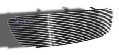 Grilles - Custom Fit Grilles - APS - Toyota Corolla APS Billet Grille - Upper - Aluminum - T85386A