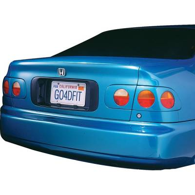 Headlights & Tail Lights - Tail Light Covers - V-Tech - Honda Civic V-Tech Taillight Covers - Circle Style - 70425