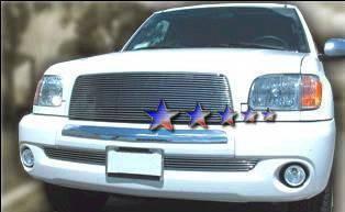 Grilles - Custom Fit Grilles - APS - Toyota Tundra APS Billet Grille - Upper - Aluminum - T85393A