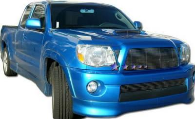 Grilles - Custom Fit Grilles - APS - Toyota Tacoma APS Billet Grille - Hood Area - Upper - Aluminum - T85462A