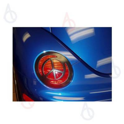 Headlights & Tail Lights - Tail Light Covers - V-Tech - Volkswagen Beetle V-Tech Taillight Covers - 92026