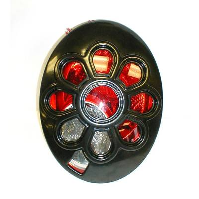 Headlights & Tail Lights - Tail Light Covers - V-Tech - Volkswagen Beetle V-Tech Taillight Covers - Daisy Style - 92226