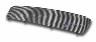 Grilles - Custom Fit Grilles - APS - Toyota Tundra APS Billet Grille - 18 Bar - Upper - Aluminum - T85483A