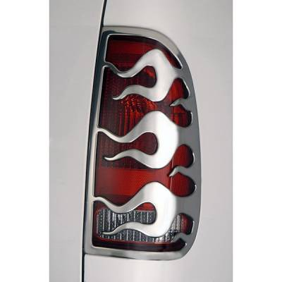 Headlights & Tail Lights - Tail Light Covers - V-Tech - Ford F150 V-Tech Taillight Covers