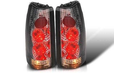 WinJet - Chevrolet CK Truck WinJet Altezza Taillight - Chrome & Smoke - WJ20-0003-02