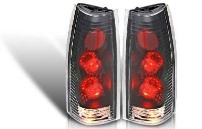 WinJet - Chevrolet CK Truck WinJet Altezza Taillight - Black & Clear - WJ20-0003-04