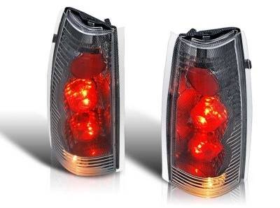 WinJet - Chevrolet CK Truck WinJet Altezza Taillight - Carbon Fiber & Clear - WJ20-0003-06