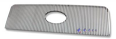 Grilles - Custom Fit Grilles - APS - Toyota Tundra APS CNC Grille - with Logo Opening - Upper - Aluminum - T95458U