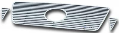 Grilles - Custom Fit Grilles - APS - Toyota Tacoma APS CNC Grille - 3PC - Upper - Aluminum - T95460A