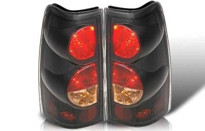 WinJet - Chevrolet Silverado WinJet Altezza Taillight - Black & Smoke - WJ20-0004-05
