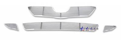 Grilles - Custom Fit Grilles - APS - Toyota Corolla APS CNC Perimeter Grille - T96602A