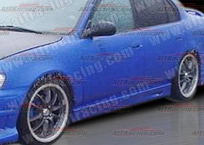 Corolla - Side Skirts - AIT Racing - Toyota Corolla AIT Racing BMX Style Side Skirts - TC93HIBMXSS