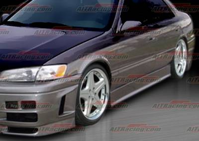 Camry - Side Skirts - AIT Racing - Toyota Camry AIT Racing EVO4 Style Side Skirts - TC97HIEVO4SS