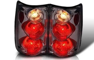 Headlights & Tail Lights - Tail Lights - WinJet - Toyota Pickup WinJet Altezza Taillight - Chrome & Smoke - WJ20-0045-02