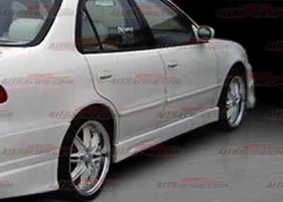 Corolla - Side Skirts - AIT Racing - Toyota Corolla AIT Racing BMX Style Side Skirts - TC98HIBMXSS