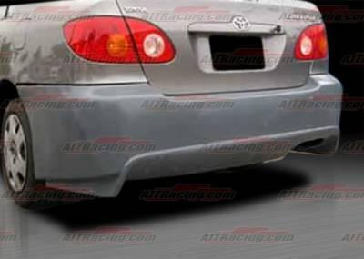 Corolla - Rear Bumper - AIT Racing - Toyota Corolla AIT Racing VIR Style Rear Bumper - TCO03HIVIRRB