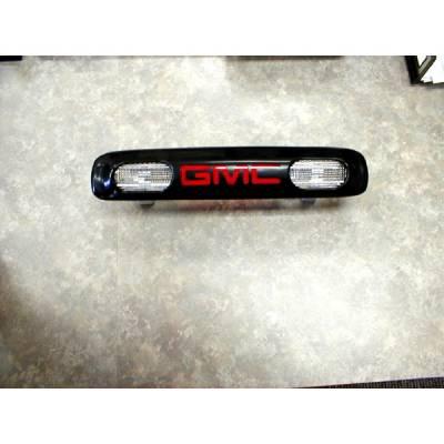 Headlights & Tail Lights - Third Brake Lights - V-Tech - GMC CK Truck V-Tech 3rd Brake Light with GMC Logo - 74043
