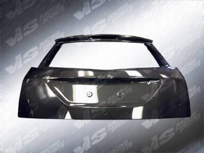 Focus Wagon - Trunk Hatch - VIS Racing. - Ford Focus Wagon VIS Racing OEM Carbon Fiber Hatch - 00FDFOCHBOE-020C