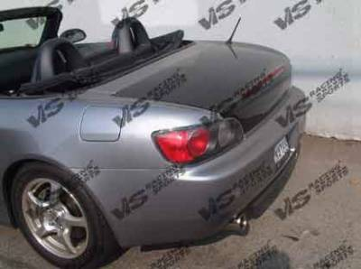 S2000 - Trunk Hatch - VIS Racing - Honda S2000 VIS Racing OEM Carbon Fiber Trunk - 00HDS2K2DOE-020C