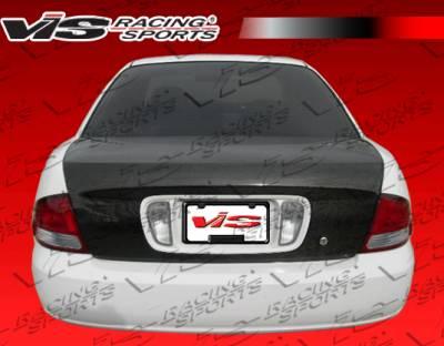 Sentra - Trunk Hatch - VIS Racing - Nissan Sentra VIS Racing OEM Carbon Fiber Trunk - 00NSSEN4DOE-020C