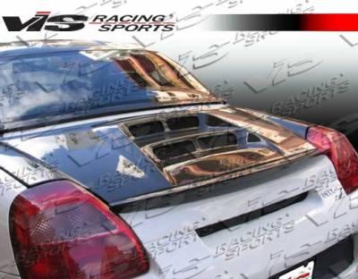 MRS - Trunk Hatch - VIS Racing - Toyota MRS VIS Racing V Line Carbon Fiber Trunk - 00TYMRS2DVL-020C