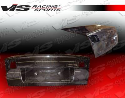 Protege - Trunk Hatch - VIS Racing - Mazda Protege VIS Racing OEM Carbon Fiber Trunk - 01MZ3234DOE-020C