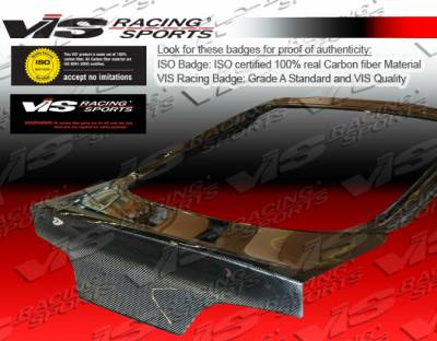 RSX - Trunk Hatch - VIS Racing - Acura RSX VIS Racing CSL Carbon Fiber Hatch - 02ACRSX2DCSL-020C