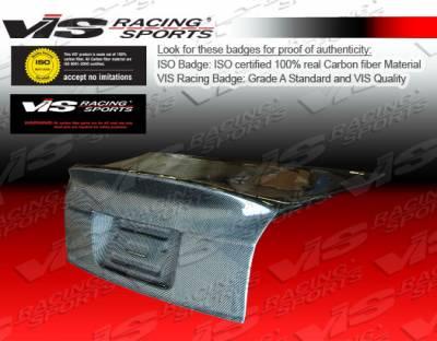 A4 - Trunk Hatch - VIS Racing - Audi A4 VIS Racing CSL Carbon Fiber Trunk - 02AUA44DCSL-020C