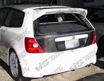 Civic HB - Trunk Hatch - VIS Racing - Honda Civic VIS Racing OEM Carbon Fiber Hatch - 02HDCVCHBOE-020C