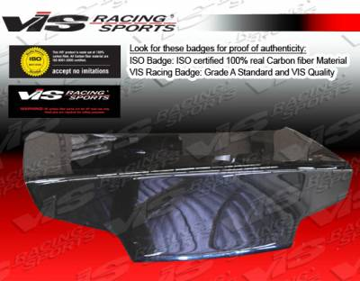 G35 4Dr - Trunk Hatch - VIS Racing - Infiniti G35 VIS Racing OEM Carbon Fiber Trunk - 03ING352DOE-020C