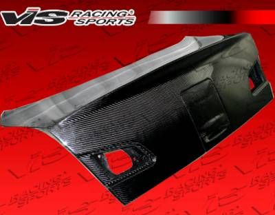 G35 2Dr - Trunk Hatch - VIS Racing. - Infiniti G35 VIS Racing K2 Carbon Fiber Trunk - 03ING354DK2-020C