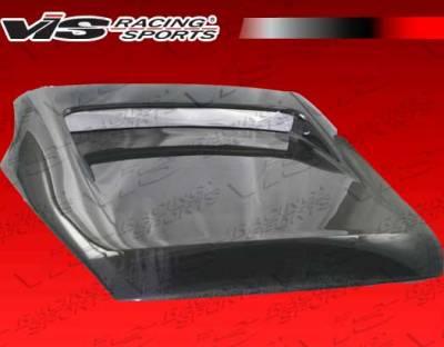 350Z - Trunk Hatch - VIS Racing - Nissan 350Z VIS Racing Tunnel Carbon Fiber Hatch - 03NS3502DTUN-020C
