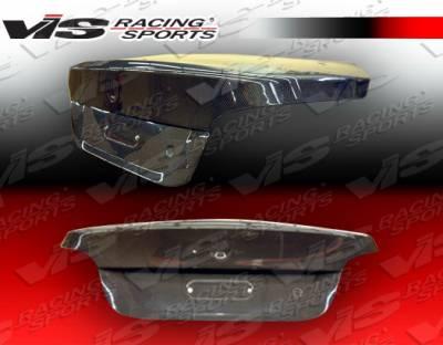 5 Series - Trunk Hatch - VIS Racing - BMW 5 Series VIS Racing OEM Carbon Fiber Trunk - 04BME604DOE-020C