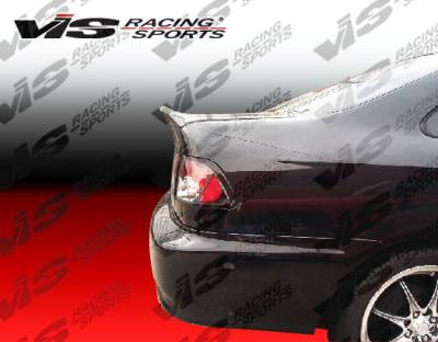 Civic 2Dr - Trunk Hatch - VIS Racing - Honda Civic 2DR VIS Racing CSL Carbon Fiber Trunk - 04HDCVC2DCSL-020C
