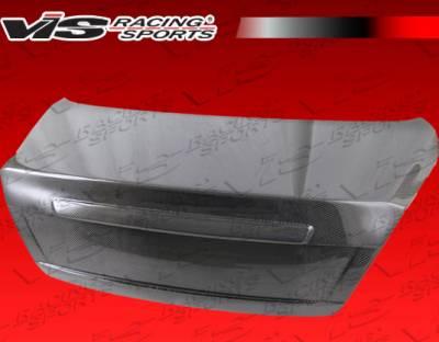 Elantra 4Dr - Trunk Hatch - VIS Racing - Hyundai Elantra 4DR VIS Racing OEM Carbon Fiber Trunk - 04HYELA4DOE-020C