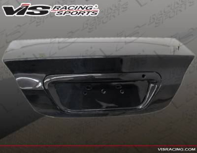 Lancer - Trunk Hatch - VIS Racing - Mitsubishi Lancer VIS Racing OEM Carbon Fiber Trunk - 04MTLAN4DOE-020C