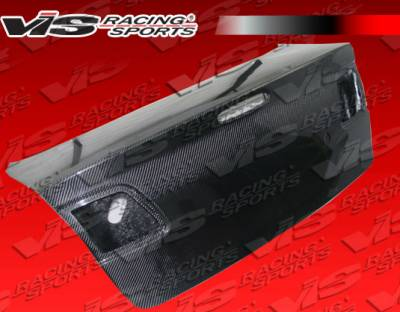 3 4Dr - Trunk Hatch - VIS Racing - Mazda 3 4DR VIS Racing OEM Carbon Fiber Trunk - 04MZ34DOE-020C