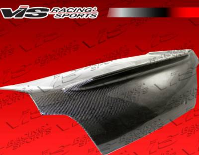 WRX - Trunk Hatch - VIS Racing - Subaru WRX VIS Racing Demon Carbon Fiber Trunk - 04SBWRX4DDEM-020C