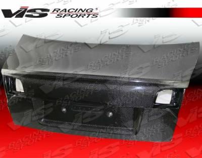 A4 - Trunk Hatch - VIS Racing - Audi A4 VIS Racing DTM Carbon Fiber Trunk - 06AUA44DDTM-020C
