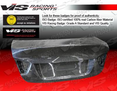 3 Series 4Dr - Trunk Hatch - VIS Racing - BMW 3 Series 4DR VIS Racing CSL Carbon Fiber Trunk - 06BME904DCSL-020C