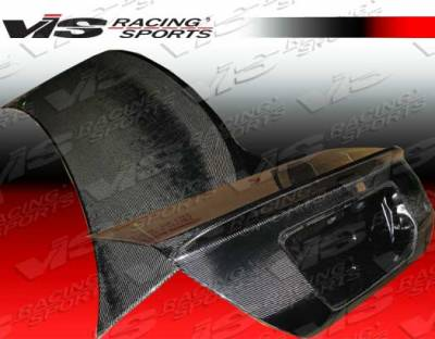 Civic 2Dr - Trunk Hatch - VIS Racing - Honda Civic 2DR VIS Racing CSL Carbon Fiber Trunk - 06HDCVC2DCSL-020C