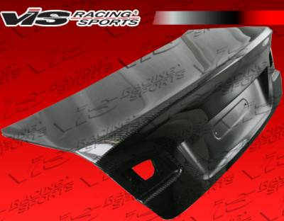 3 Series 2Dr - Trunk Hatch - VIS Racing - BMW 3 Series 2DR VIS Racing CSL Carbon Fiber Trunk - 07BME922DCSL-020C