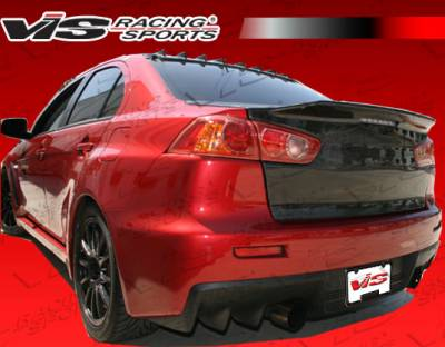 Lancer - Trunk Hatch - VIS Racing. - Mitsubishi Lancer VIS Racing Demon Fiberglass Trunk - 08MTEV104DDEM-020