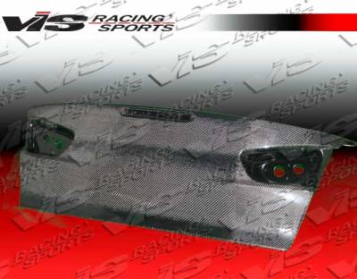Lancer - Trunk Hatch - VIS Racing - Mitsubishi Lancer VIS Racing OEM Carbon Fiber Trunk - 08MTLAN4DOE-020C