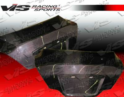 Altima - Trunk Hatch - VIS Racing - Nissan Altima VIS Racing OEM Carbon Fiber Trunk - 08NSALT2DOE-020C